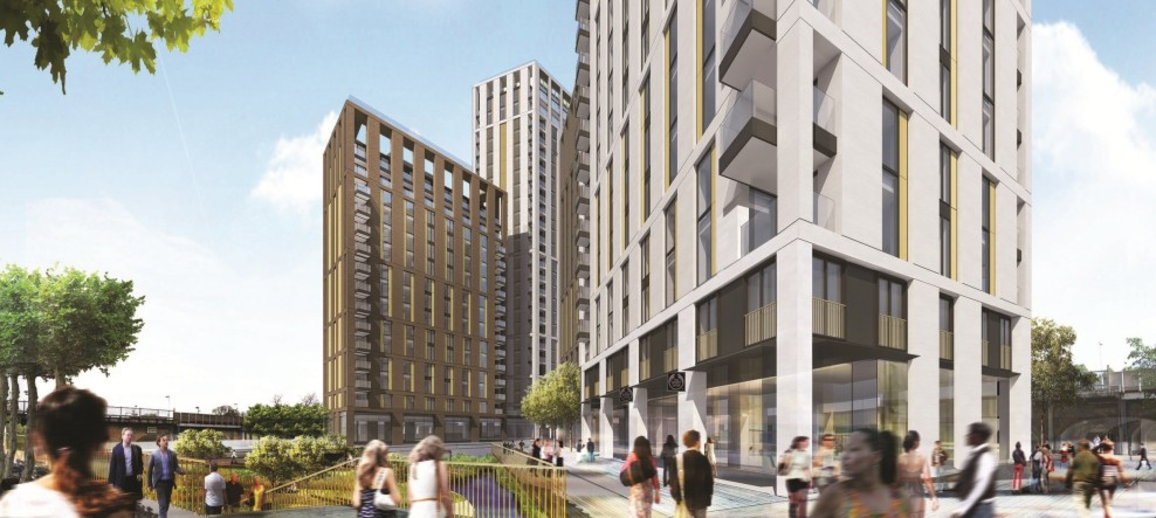 Lewisham Gateway, Phase 1a and 1b CGI
