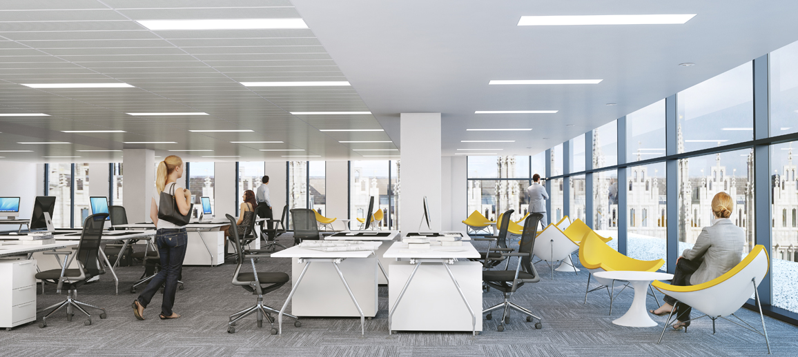 CGI of Marischal Square offices