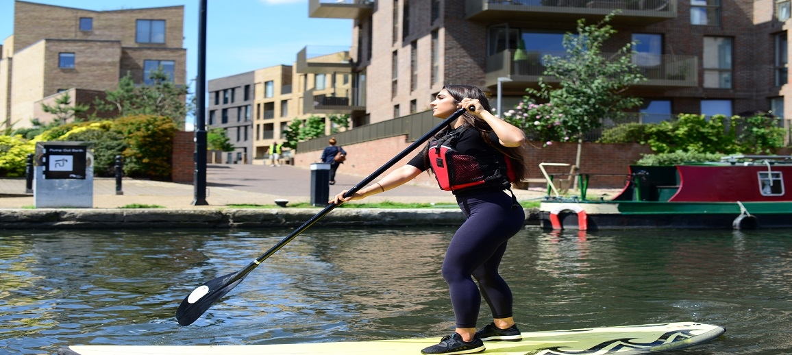 Chalico Walk, Brentford Lock West (Paddle Boarding)