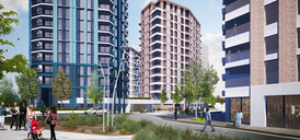 Manor Road Quarter at Canning Town