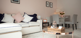 Photo of The Gables phase 2 show home lounge