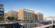 CGI of Chalico Walk, Brentford (day)