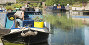 Chalico Walk, Brentford Lock West (Barge boat)