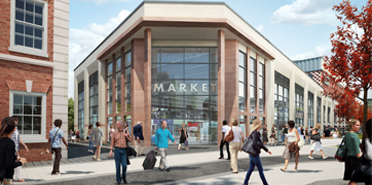 CGI of Time Square, Warrington