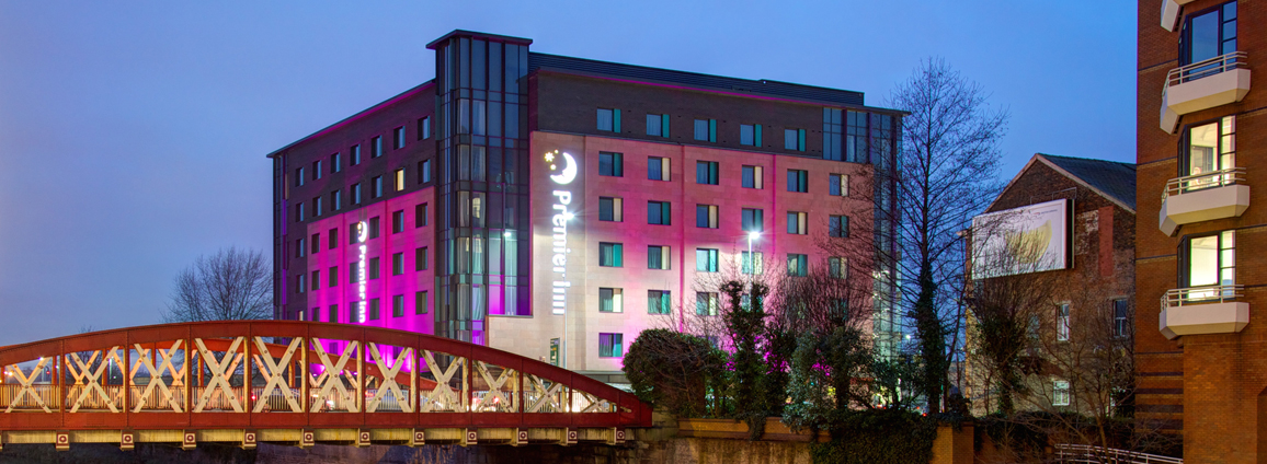 Photo of the Premier Inn hotel, New Bailey, Salford