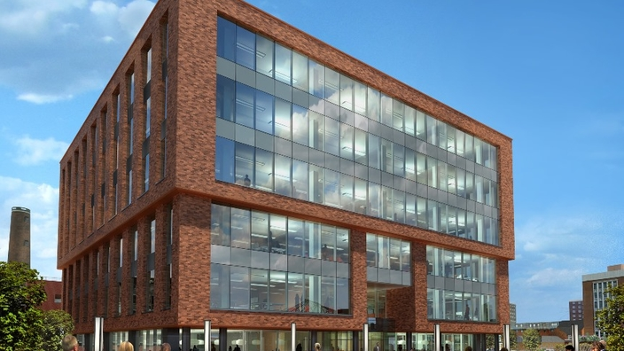 CGI of One City Place office building