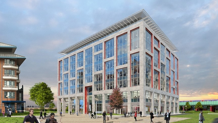 CGI of One New Bailey office building